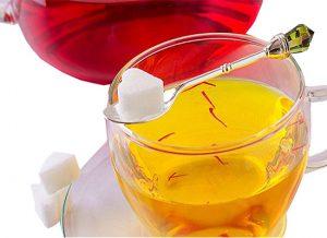 آب زعفران سی سیب
