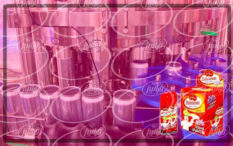بزرگترین کارخانه اسپری زعفران در جهان