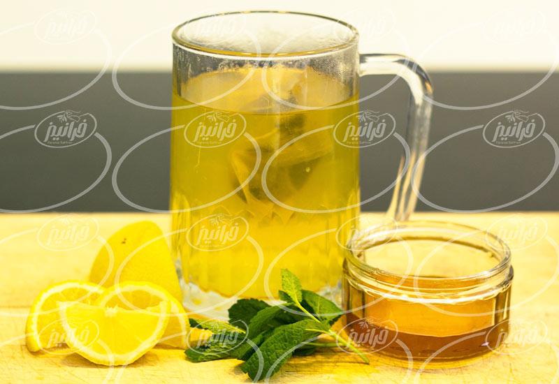 مرکز نوشیدنی زعفران لیمو صادراتی