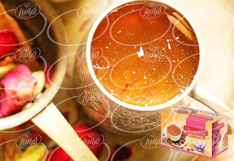 قیمت دمنوش زعفران شاهسوند در کشور هند