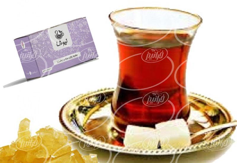 صادرات چای زعفران نیوشا ارگانیک به کشور های عربی