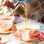 بازرگانی بی نظیر چای سیاه زعفرانی سحرخیز
