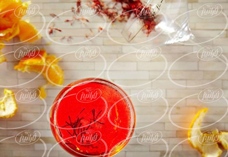 فروش دمنوش زعفران به صورت 24 ساعته