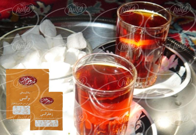 عامل فروش چای زعفران سحرخیز در تهران
