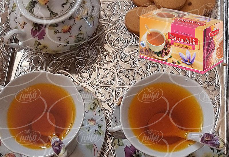 مکان اصلی خرید فروش دمنوش زعفرانی شاهسوند