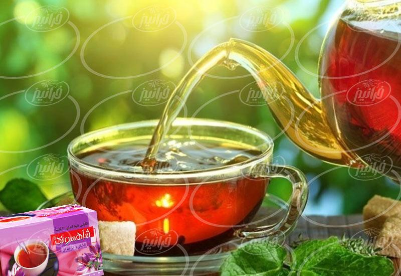 تجارت انحصاری چای زعفرانی شاهسوند