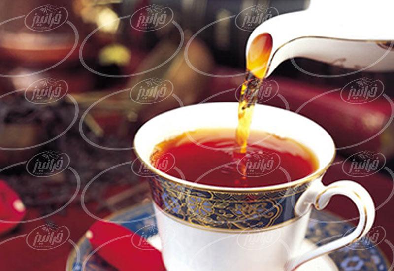 نمایندگی جهت خرید اینترنتی چای زعفرانی