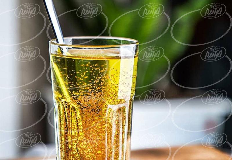 فروشنده معتبر پودر نوشیدنی زعفرانی 400 گرمی